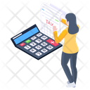 Tax Calculation Icon