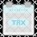 Tax Calendar Icon