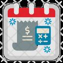 Tax Day Calendar Icon
