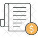 Tax Paper Document Icon