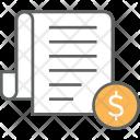 Tax document Icon