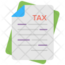 Tax Document Taxation Icon