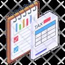 Tax File Tax Report Tax Document Icon