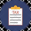 Tax Document Tax File Tax Icon