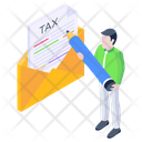 Tax Email Icon