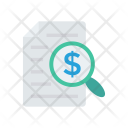 Tax File Invoice Icon