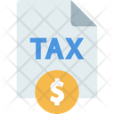 Tax Finance Receipt Tax Receipt Icon