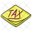 Tax File Tax Document Tax Return Icon
