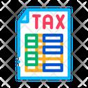 Tax File Icon