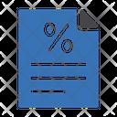 Tax File File Taxation Icon