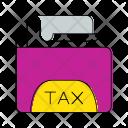Tax Folder Invoice Icon