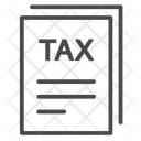 Tax Form Tax Invoice Payable Tax Icon