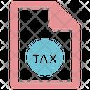 Tax Form Tax Document Icon