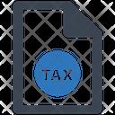 Tax Form Startup Statistics Icon