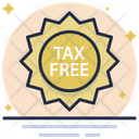 Tax Free Taxation Duty Free Icon