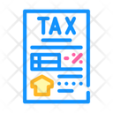 Tax Reduction If Icon