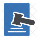 Tax Law Auction Gavel Icon