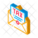 Tax Mail Order Icon
