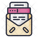 Tax Letter Mail Tax Form Email Icon