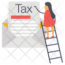 Tax Mail Icon