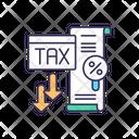 Tax Minimization Accounting Icon