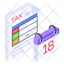 Calendar Tax Payday Schedule Icon
