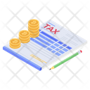 Tax Payment Billing Gst Icon