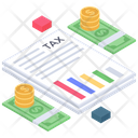 Tax Payment Tax Document Budget Icon
