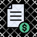 Tax Reciept Icon