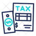 Tax Refund Data Document Icon