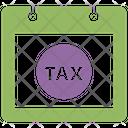 Tax Refund Deadline Tax Business Icon