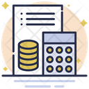Tax Report Document Report Icon