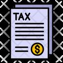 Tax Residency Tax Form Tax Icon