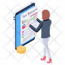 Tax Return Icon