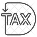 Tax Returns Income Tax Charges Icon