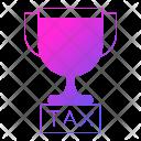 Tax Reward Trophy Icon