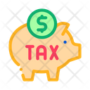 Tax Money Box Icon