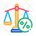 Tax Scale Icon