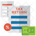 Tax Statement Icon