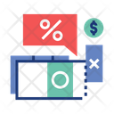 Taxation Tax Money Deduction Icon