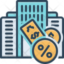 Taxation Finance Accounting Icon