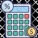Accounts Calculator Tax Icon