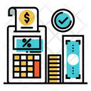 Taxation Tac Accounting Icon