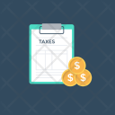 Taxes Tariff Toll Icon