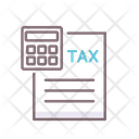 Taxes Income Tax Tax Calculation Icon