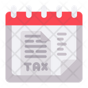 Taxes Tax Date Icon