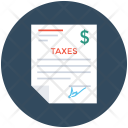 Taxes Business Tax Icon