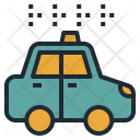 Taxi Travel Transportation Icon