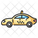 Taxi Cab Travel Icon