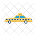 Taxi Car Automobile Icon
